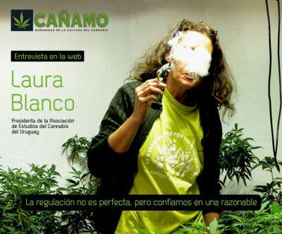 Entrevista a Laura Blanco, presidenta deAECU