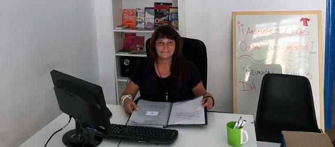 Marisa Fernández, presidenta deFAUDAS