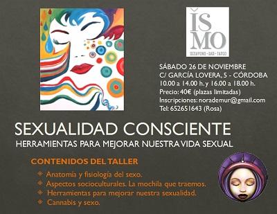Taller Sexualidad Consciente enCórdoba